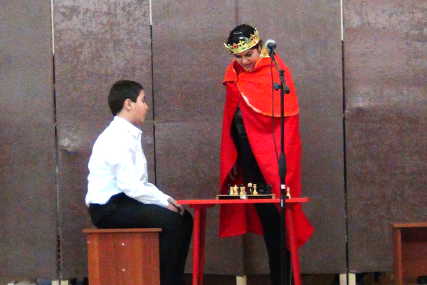 король-и-шахм