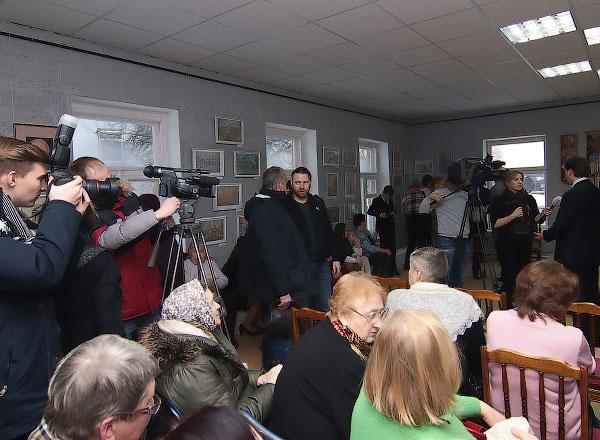 Выставка к юбилею Киселевой